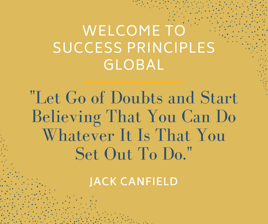 Quote From Jack Canfield on Success Principles Global